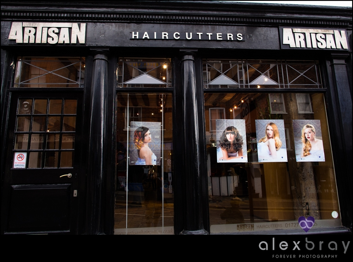 Commercial Hair Photography For St Albans Hairdressers